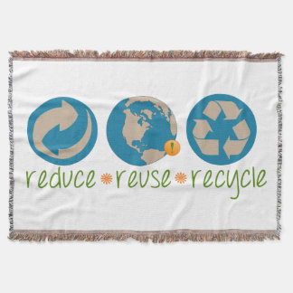 Reduce, Reuse, Recycle Throw