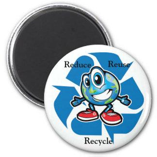 Reduce Reuse Recylce Magnet