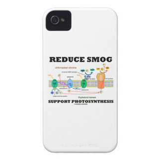 Reduce Smog Support Photosynthesis iPhone 4 Covers