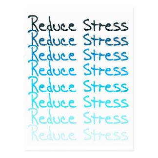Reduce Stress Postcard