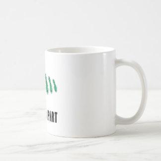 Reduce Your Carbon Footprint Basic White Mug