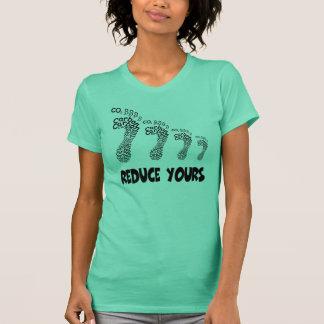 Reduce your carbon footprint T-Shirt