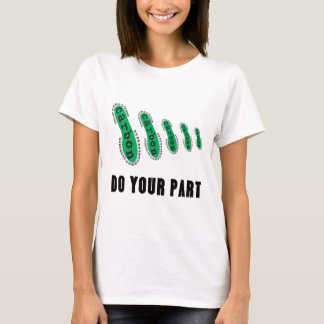 Reduce Your Carbon Footprint T-Shirt