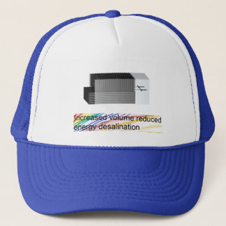 Reduced Energy Desalination Hat