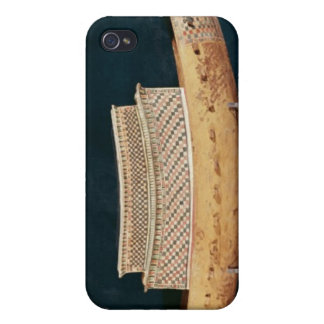 Reduced model of a boat from the Tomb iPhone 4 Cover