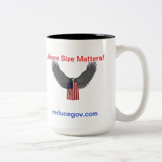 reducegov 15 oz coffee mug