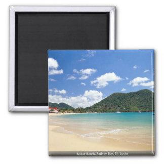 Reduit Beach, Rodney Bay, St. Lucia Magnet