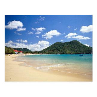 Reduit Beach, Rodney Bay, St. Lucia Postcard