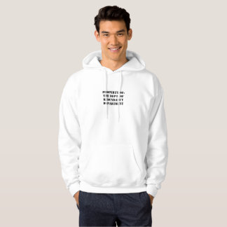 Redundancy Department Property Hoodie