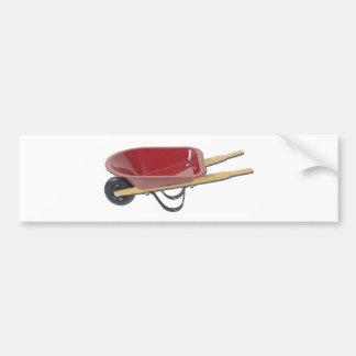 RedWheelbarrow050111 Bumper Sticker