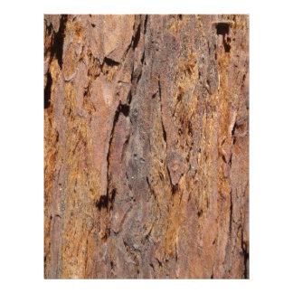 Redwood Bark Customised Letterhead