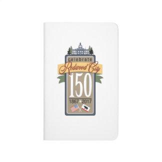 Redwood City 150th Anniversary Journals