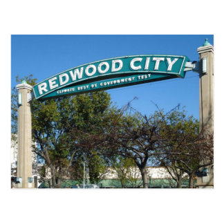 Redwood City 150th Anniversary Postcard