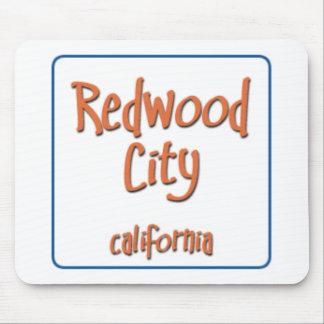 Redwood City California BlueBox Mouse Pad