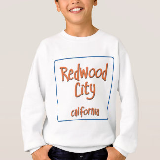 Redwood City California BlueBox Sweatshirt