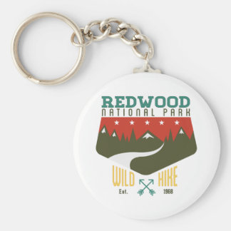 Redwood National Park Key Ring