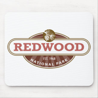 Redwood National Park Mouse Pad
