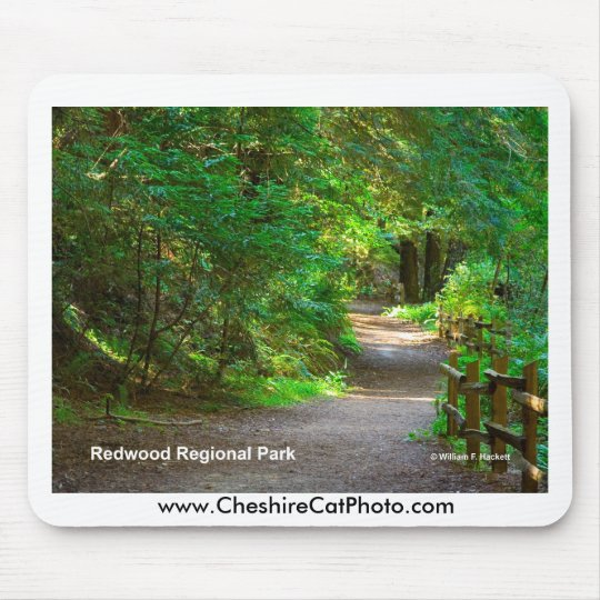Redwood Regional Park California Products Mouse Mat