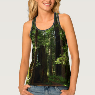 Redwoods and Ferns at Redwood National Park Tank Top