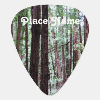 Redwoods Guitar Pick