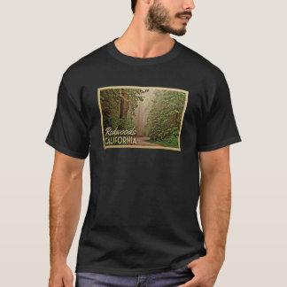 Redwoods Vintage Travel T-shirt California