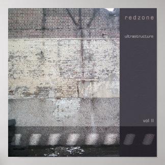 Redzone - Ultrastructure vol. II Poster