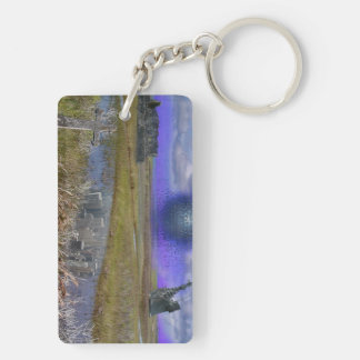 Reed ruins, Reed of ruin Double-Sided Rectangular Acrylic Key Ring