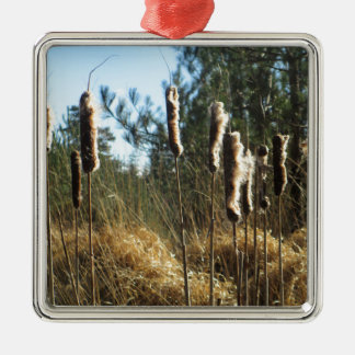 Reeds in the Wind Christmas Ornament