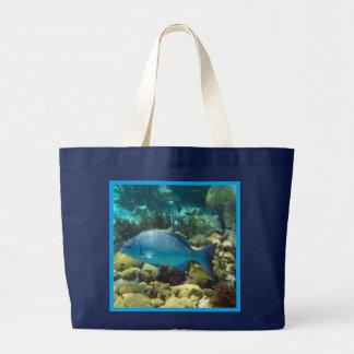 Reef Fish Jumbo Tote Bag