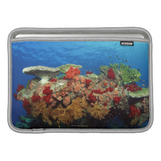 Reef scenic of hard corals , soft corals MacBook sleeve
