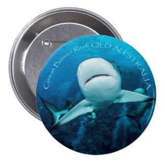 Reef Shark Button