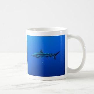 Reef Shark in the Coral Sea Coffee Mug