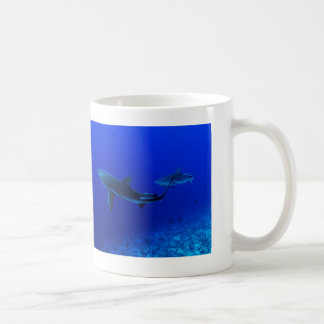 Reef Sharks on the Great Barrier Reef Coffee Mug