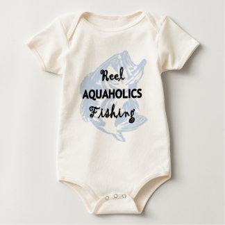 Reel Aquaholics Fishing Baby Bodysuit