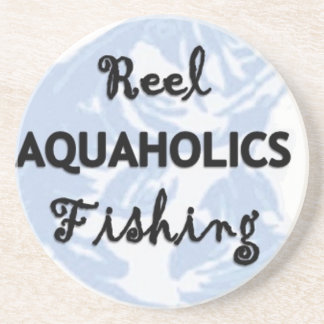 Reel Aquaholics Fishing Coaster