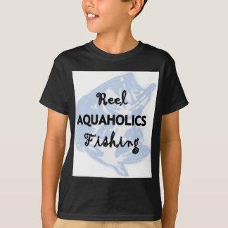 Reel Aquaholics Fishing T-Shirt