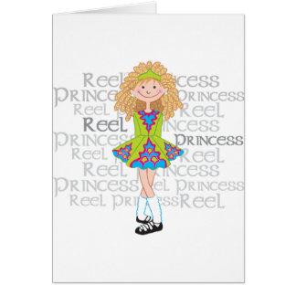 Reel Blonde Greeting Card