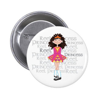 Reel Brunette Button