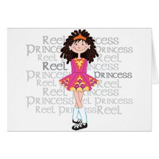 Reel Brunette Card