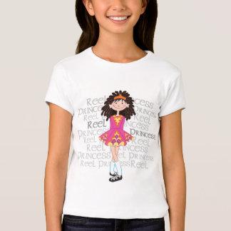 Reel Brunette Girl's T-shirt