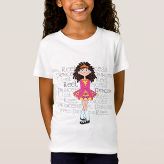 Reel Brunette Girl's T-shirt