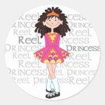 Reel Brunette Sticker