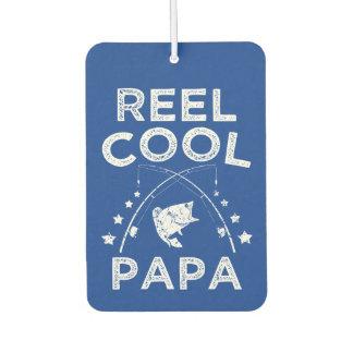 Reel Cool Papa funny fisherman car freshener