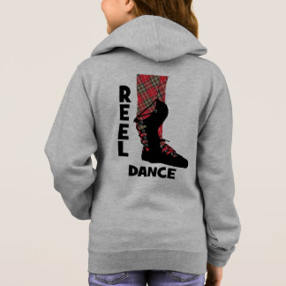 Reel Dance Scottish Country Dance Themed Hoodie