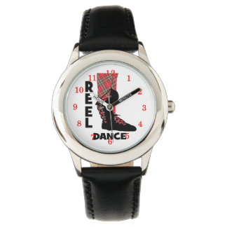 Reel Dance Scottish Country Dance Themed Watch