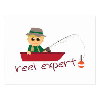 Reel Expert Postcard