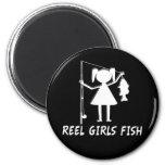 REEL GIRLS FISH! FRIDGE MAGNETS