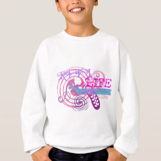 Reel Life in Pink Sweatshirt