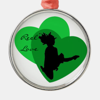 Reel Love - Irish Dance Christmas Ornament