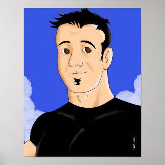 Reel Men: Brian Print
